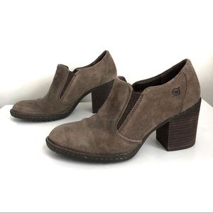 BORN Suede Ankle Boots